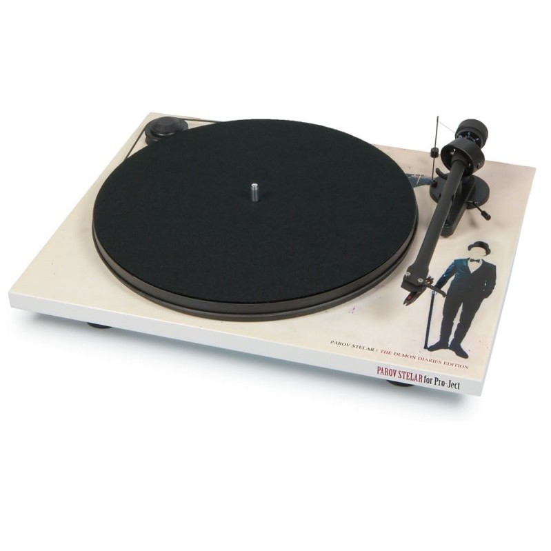 Pro-Ject ESSENTIAL II (DC) (OM 5e) WHITE DEMON