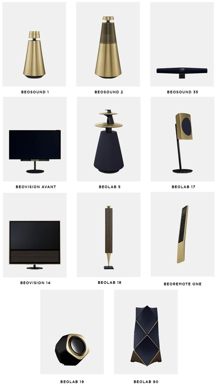 Bang & Olufsen Brass Tone