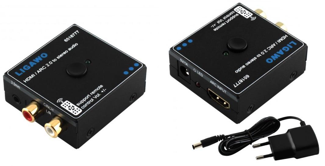 Ligawo HDMI ARC Audio Extractor