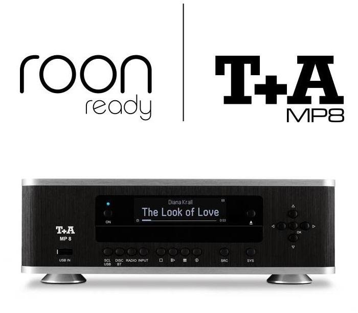 Т+А MP8 получил сертификат Roon Ready
