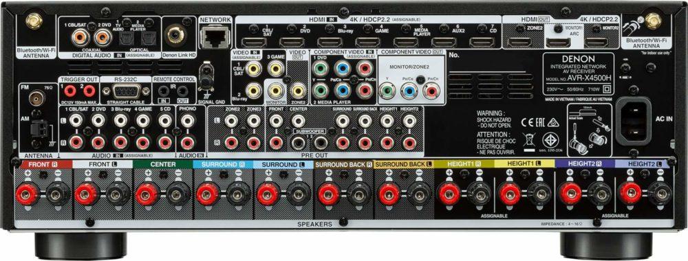 Denon AVR-X4500H и AVR-X3500H