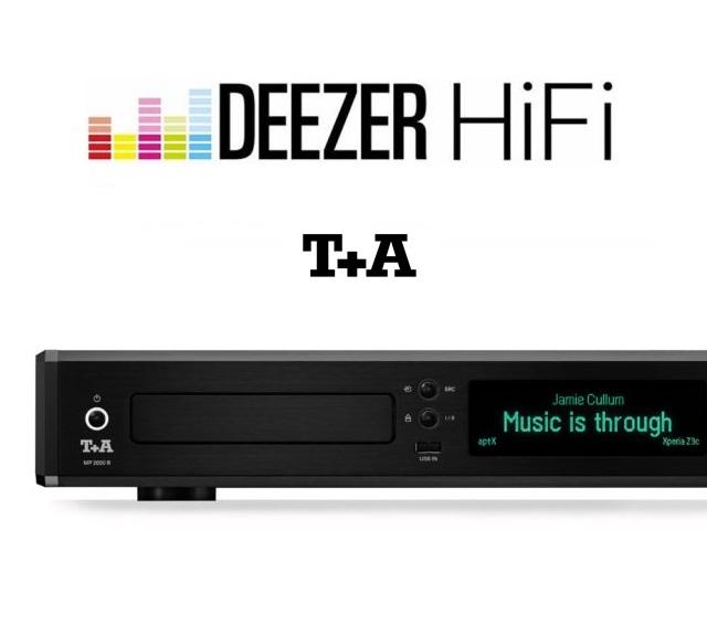 T+A теперь с поддержкой музыкального сервиса Deezer