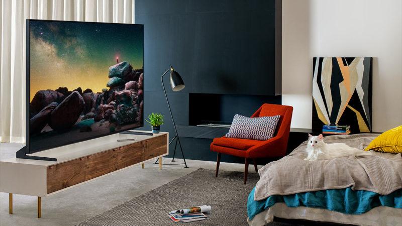 Samsung запускает в России производство первых в мире QLED-телевизоров 8K