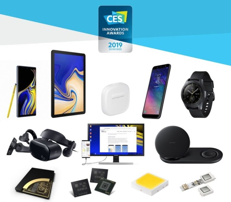 Samsung получила 30 наград CES 2019 Innovation Awards