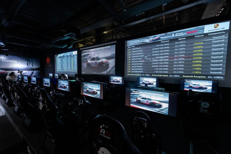 Компания LG Electronics выступила техническим партнером чемпионата Porsche eRacing Championship Russia