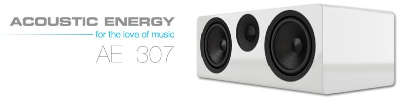 АЕ 307 - новый центральный канал от Acoustic Energy