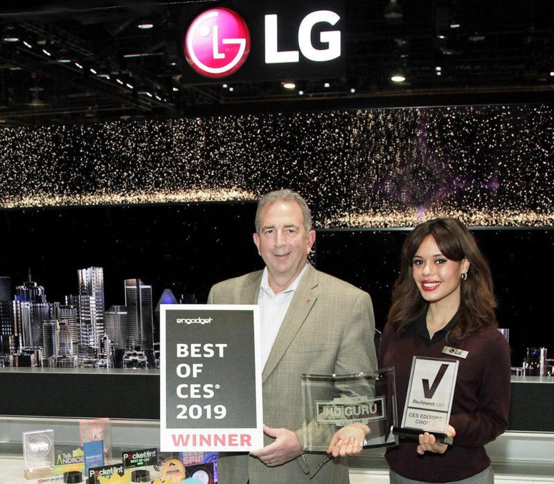 LG Electronics получила более 140 различных наград на выставке CES 2019
