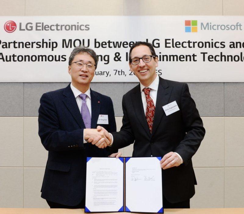 LG Electronics и Microsoft