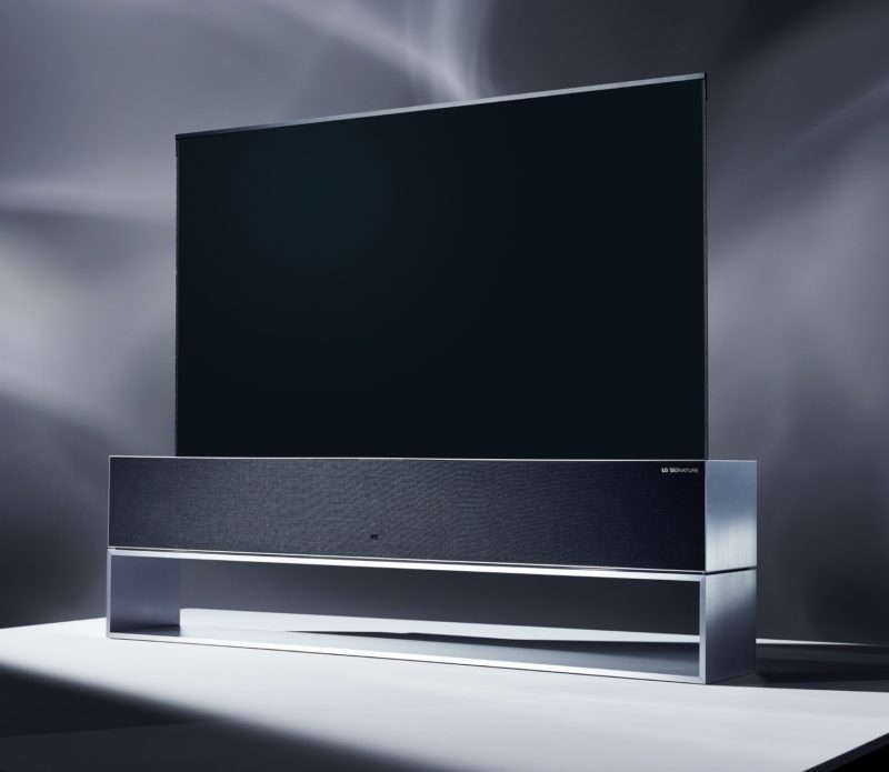 LG SIGNATURE OLED TV R (LG 65R9)