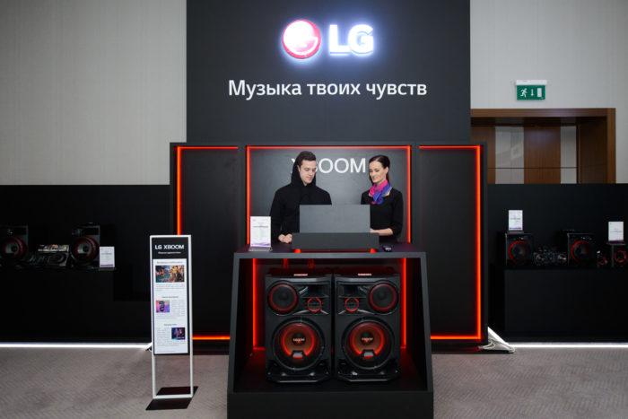 LG презентовал новые