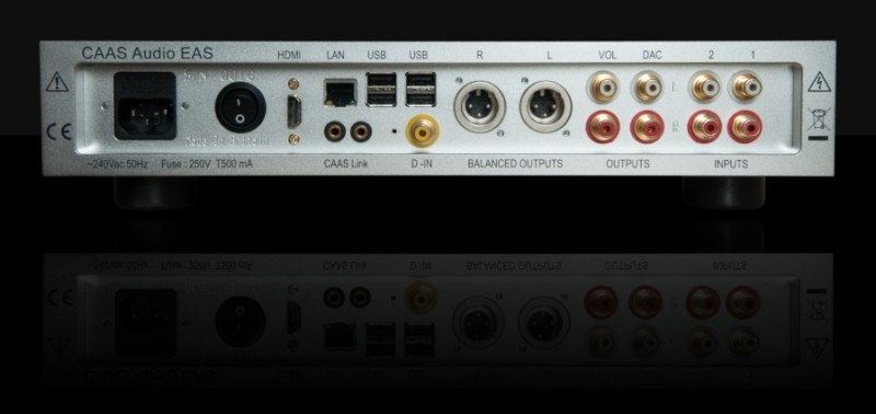 CAAS Audio Elysian Audio Server (EAS)