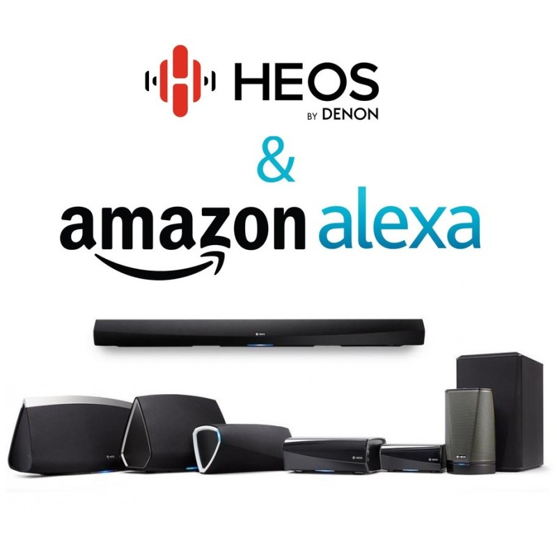 Denon HEOS Amazon Alexa