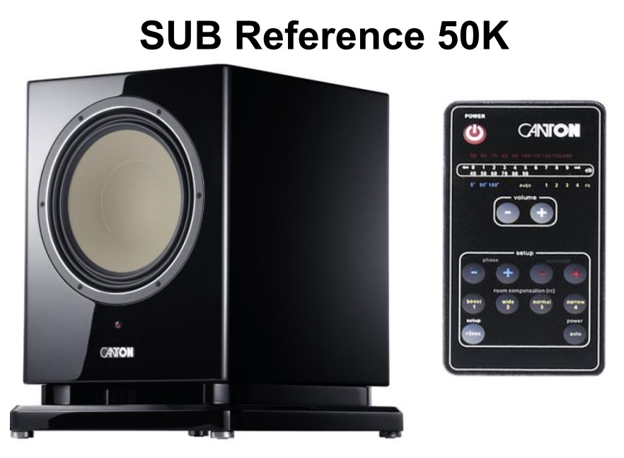 Canton SUB Reference 50K