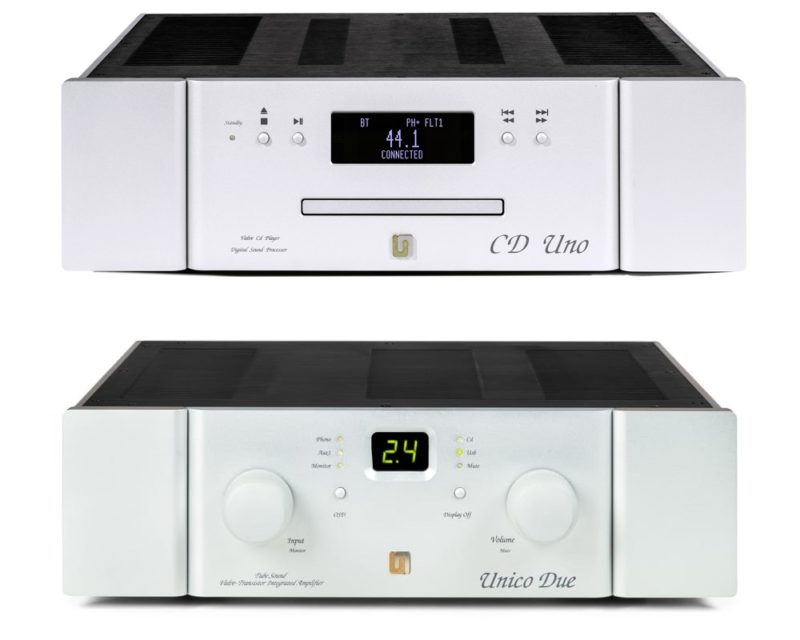 Unison Research Unico Due Amp и Unico CD Uno