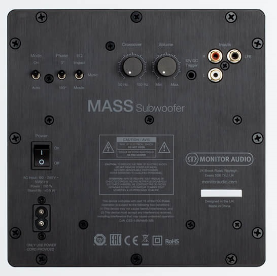 Monitor Audio MASS Subwoofer