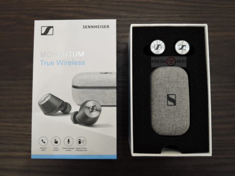 Обзор Sennheiser MOMENTUM True Wireless